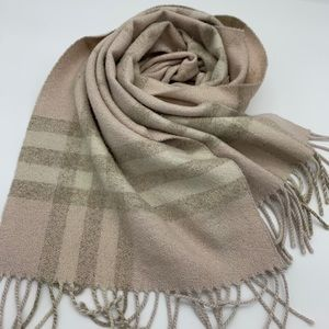 Authentic Burberry glitter scarf
